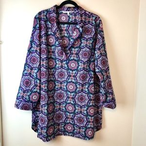 Victoria's Secret | Purple Printed Sleepshirt